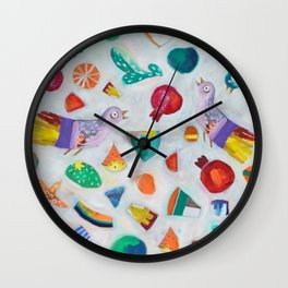 All things bright and beautiful Wall Clock