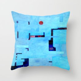 Docklands IV Throw Pillow