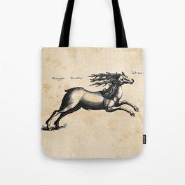 Vintage Deer Illustration Tote Bag