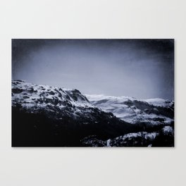 Lonely Mountains III Canvas Print