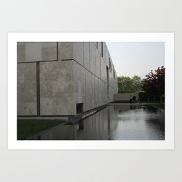 Barnes Foundation, Exterior Art Print