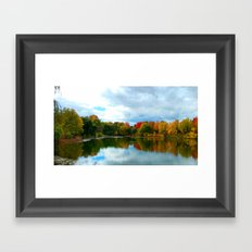 Cloudy Sky Framed Art Print