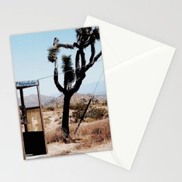 MOJAVE DESERT PHONE BOOTH Stationery Cards
