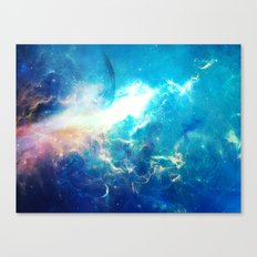 Stars Painter Canvas Print