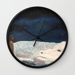 NeverEnding Story - Falkor Luckdragon - FAN ART Wall Clock