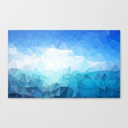 Sky and sea  Canvas Print