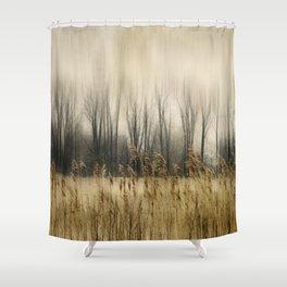 Marsh Edge Shower Curtain