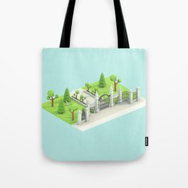 Low Poly Trinity Bellwoods Tote Bag