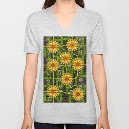 Dandelion Garden Unisex V-Neck