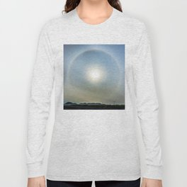Plane in the Sun circle Long Sleeve T-shirt