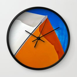 Umbrella Abstract Wall Clock