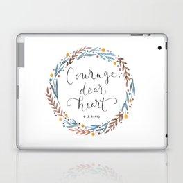 Courage Dear Heart Laptop & iPad Skin