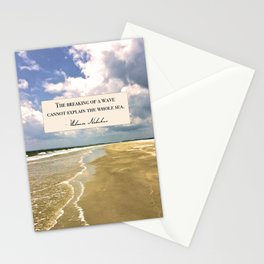 The Breaking of a Wave Stationery Cards
