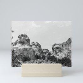 Mount Rushmore National Memorial Mini Art Print