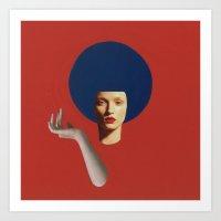 disco Art Prints featuring Disco by fabiotir