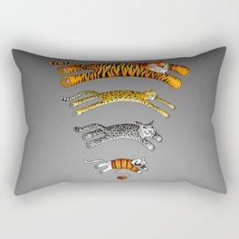 Wi-Fi Cats Rectangular Pillow