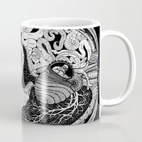 anatomy Mugs featuring Gross Anatomy by Chris Varnum