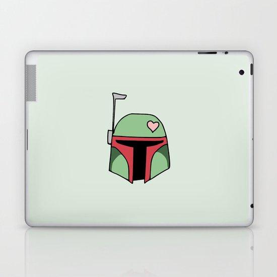 Boba Fett Valentine Laptop & iPad Skin