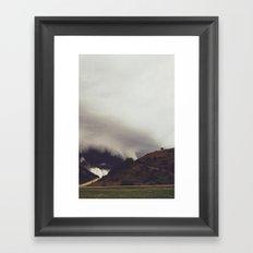 Beneath The Cloud Framed Art Print