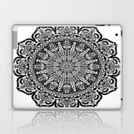 Lace Pattern Mandala Laptop & iPad Skin