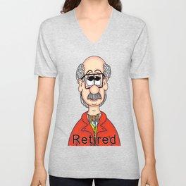 Retired... Unisex V-Neck