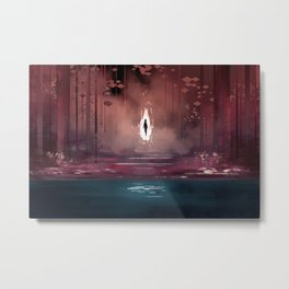 fire witch Metal Print