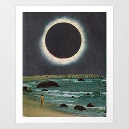 Corona Tide Art Print