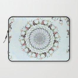 Floral fervour Laptop Sleeve