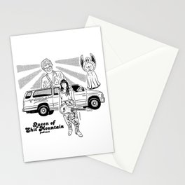 Queen of Shit Mountain Stationery Cards