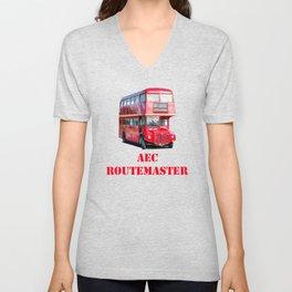 AEC Routemaster London Bus Unisex V-Neck