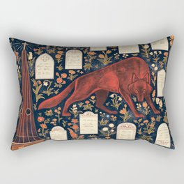 Church Grim Rectangular Pillow