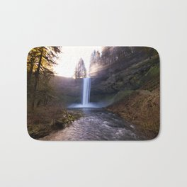 Sun Star Over South Falls Bath Mat