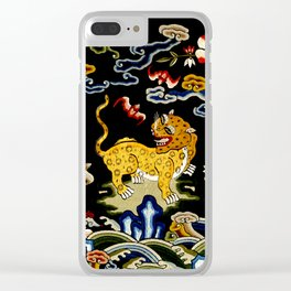 Leopard II Clear iPhone Case