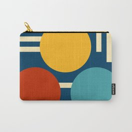 Three circles and lines Carry-All Pouch