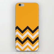 Orange Zigzag iPhone & iPod Skin
