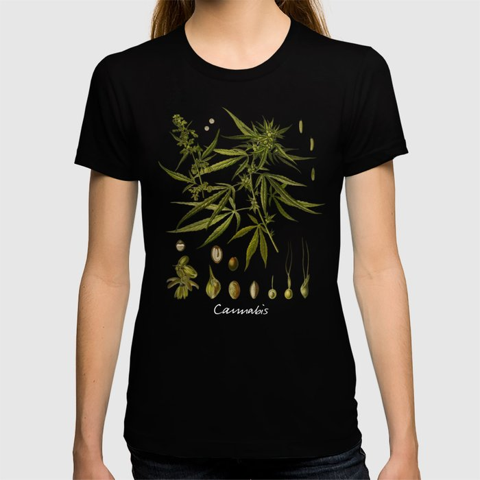 Cannabis #cannabis T-shirt