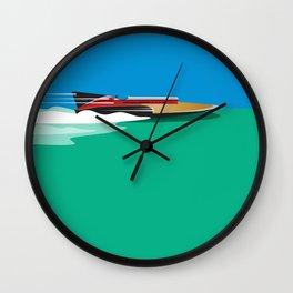Liquid Sky Wall Clock