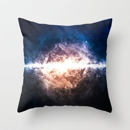 Star Field in Deep Space Throw Pillow