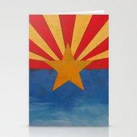 arizona Stationery Cards featuring Arizona by Michael Creese