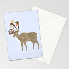 Holiday Reindeer Stationery Cards