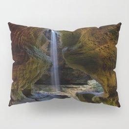 Rock House and Waterfall - Hocking Hills Pillow Sham