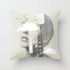 Town Facet Throw Pillow