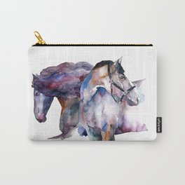 Horses #1 Carry-All Pouch