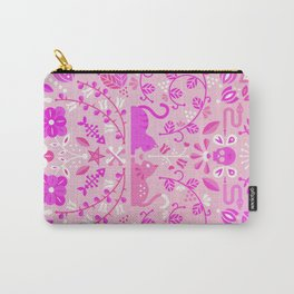 Kitten Lovers – Pink Ombré Carry-All Pouch