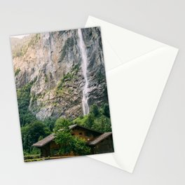 Lauterbrunnen Waterfall Stationery Cards