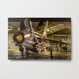 English Electric Lightning QRA shed Metal Print