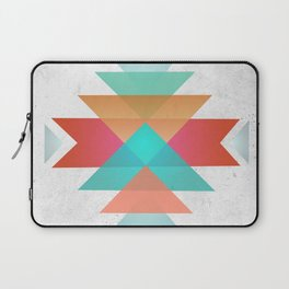 Geometric abstract indigenous symbol Laptop Sleeve