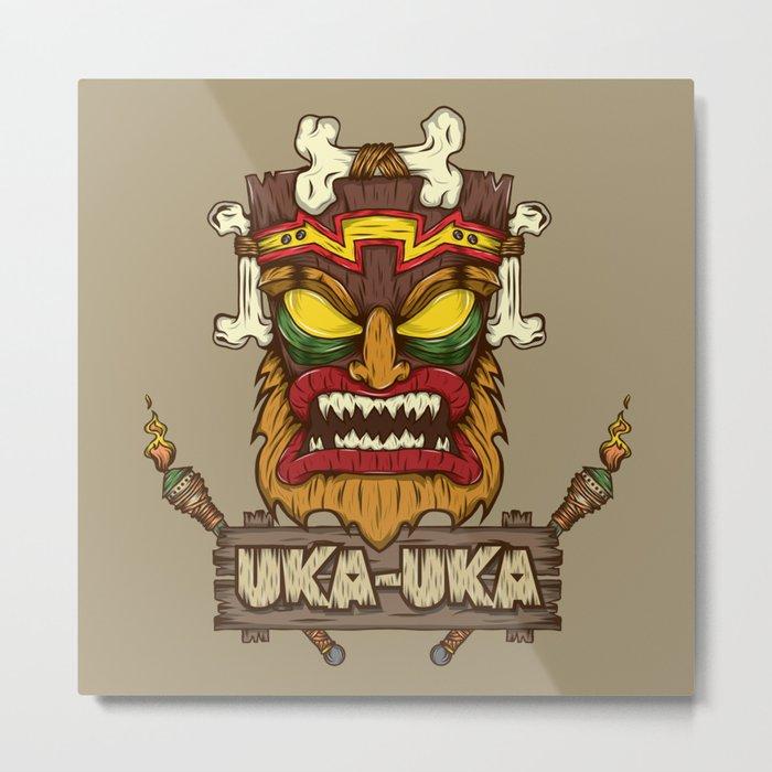 Uka-Uka (Crash Bandicoot) Metal Print