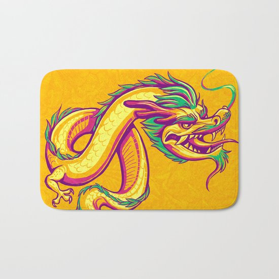 Bonsai Dragon Bath Mat