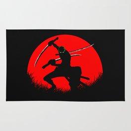 tree sword warrior Rug